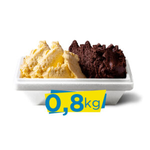 Vaschetta gelato 800g